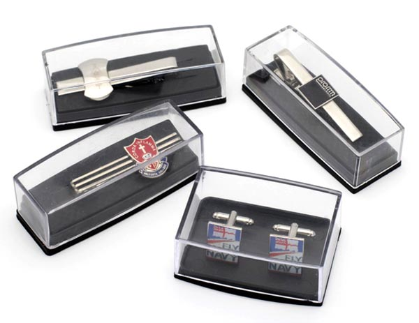 wholesale Cufflinks and Tie clip Set packed in gift box