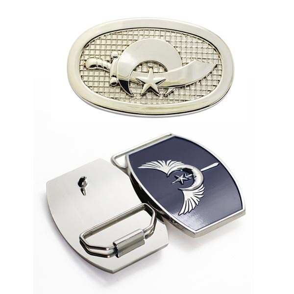 Customized Casting Metal Firefighter Belt Buckle For Men Belt directly from factory