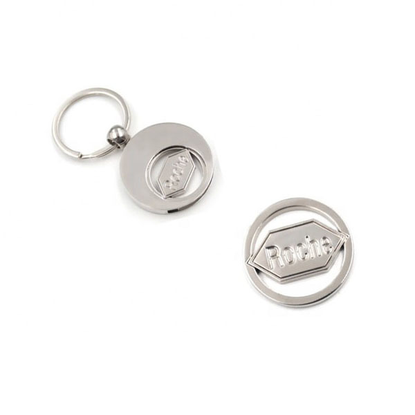 Personalized-Nickel-Plating-Shopping-Trolley-Coin-Keychain (3)