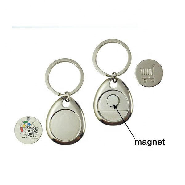 Personalized-Nickel-Plating-Shopping-Trolley-Coin-Keychain (4)