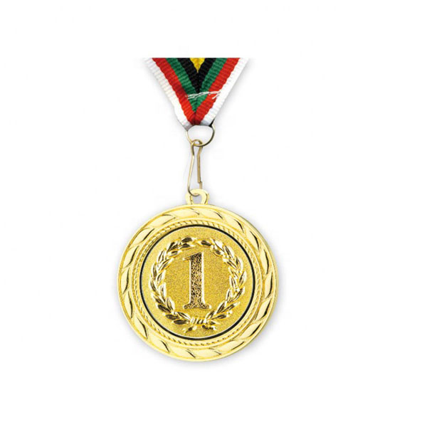 China Manufacture Cheap Wholesale Custom Metal Gold Award Marathon Running Sports Medals