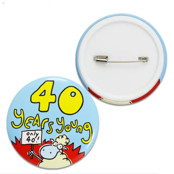 Manufacturers Custom Custom Enamel Metal Pin Button Badge