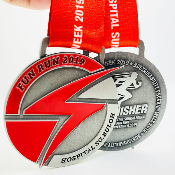 new cheap wholesale die-cast custom making awards metal sports medal