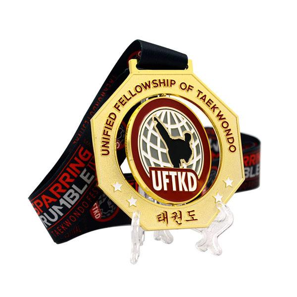 Fistfight medals karate medallion award taekwondo tournament medals