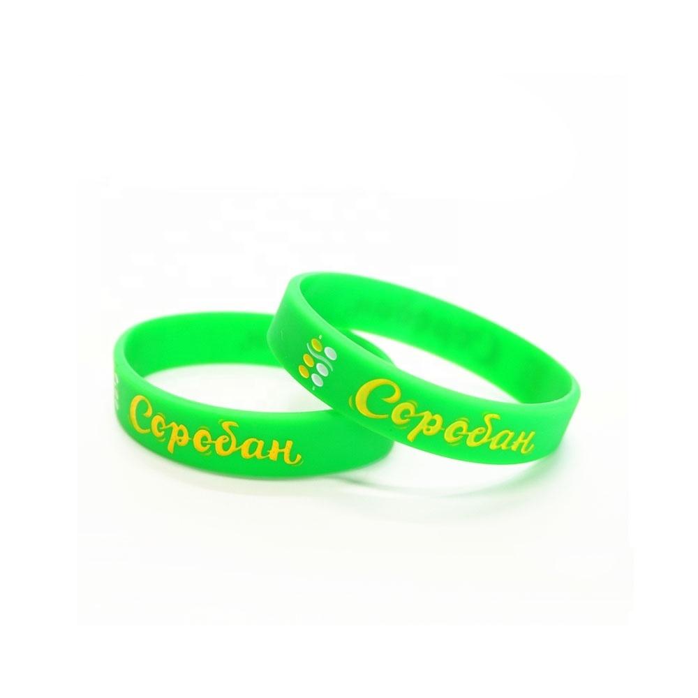 Promotional Cheap Custom Silicone Wrist Band bracelet