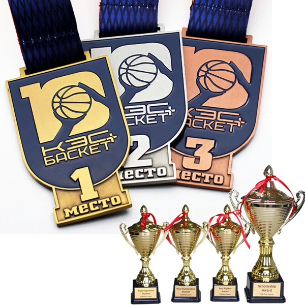 Hot Sale Custom Sports Cups Trophies Medal Awards