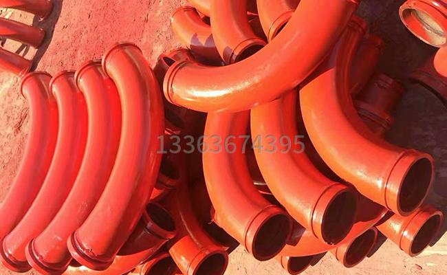 怎么测量泵管弯头长度