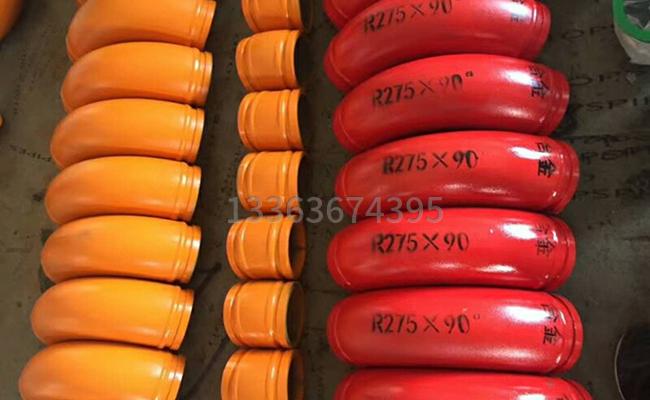 125泵车高压弯头