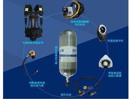空气呼吸器佩戴步骤