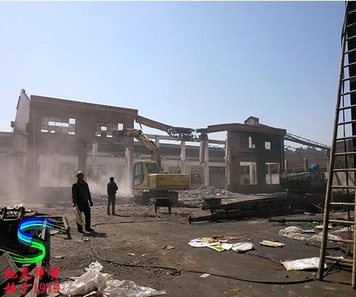 佛山旭龙弹簧厂拆除中型弹簧车间