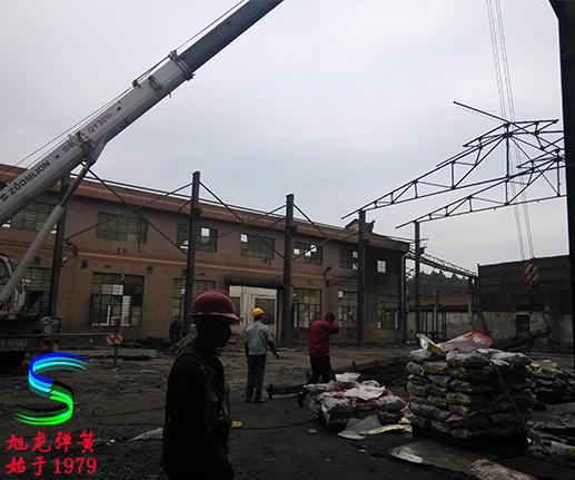 广东弹簧厂建设新车间