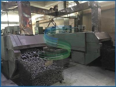 广东旭龙弹簧厂中型弹簧车间 磨口区