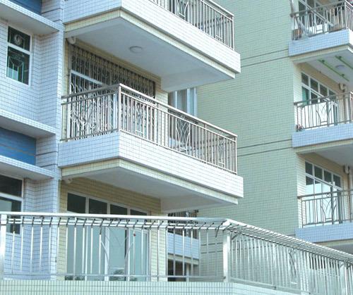 家装不锈钢管护栏案例