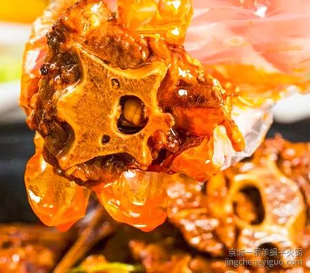 羊蝎子火锅图