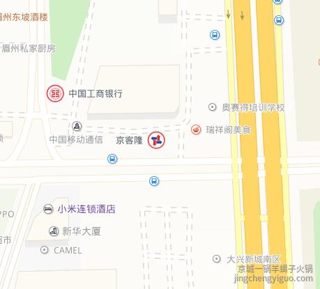 羊蝎子火锅加盟公司地图