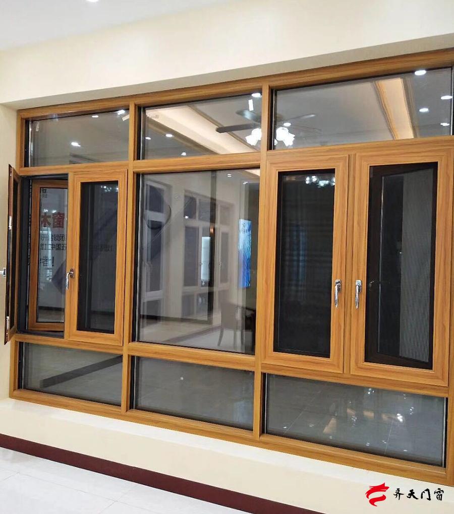 门窗加工,深圳宝安断桥铝隔音门窗安装案例