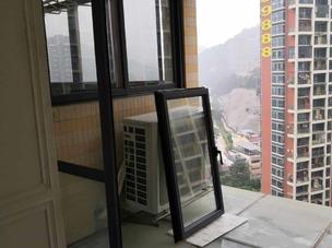 南山月亮湾香格名苑平开窗安装案例