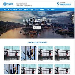 上海保洁公司营销型网站——保洁公司网站建设