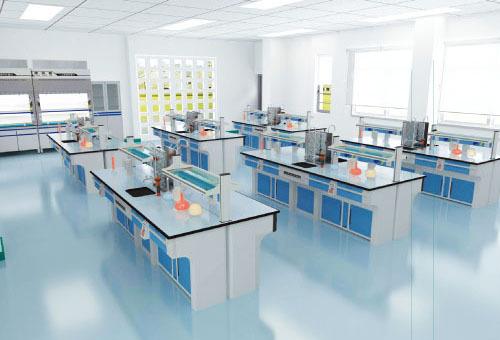 防酸堿化學實驗臺帶試劑架,中間帶水池