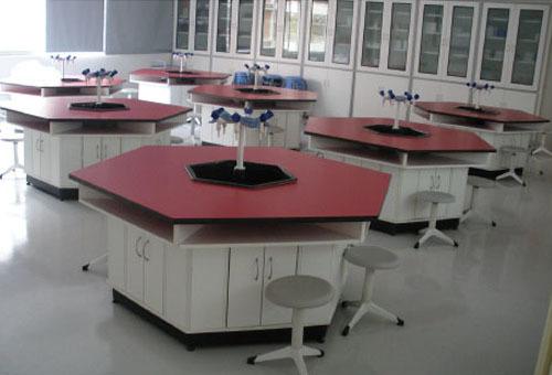 初中化學六邊型學生實驗臺