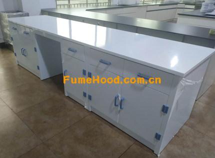 PP实验台柜每延米可以承重200Kg