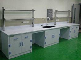 沪杰实验台厂家生产的PP实验台柜