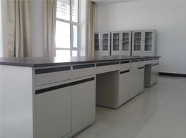 沪杰实验台厂家生产的全钢边柜实验台