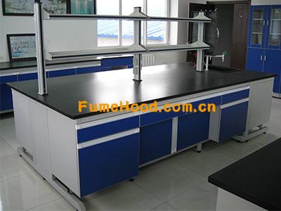 钢木材质化学实验的实验台