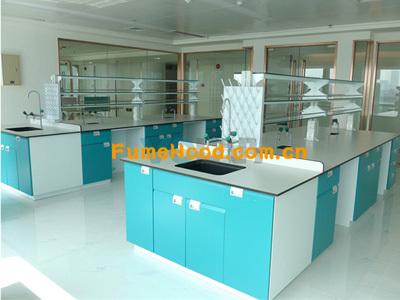灰白色陶瓷台面化学实验台