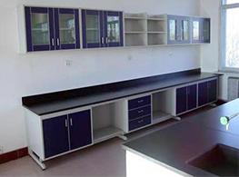 实验室厂家生产的钢木实验室边台