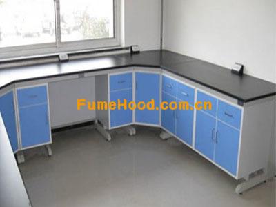 钢木实验室柜子图片
