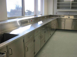 不锈钢实验台柜