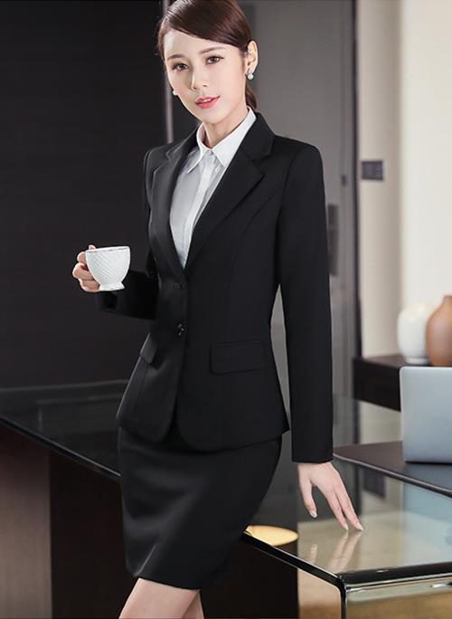 广安时尚女士西服