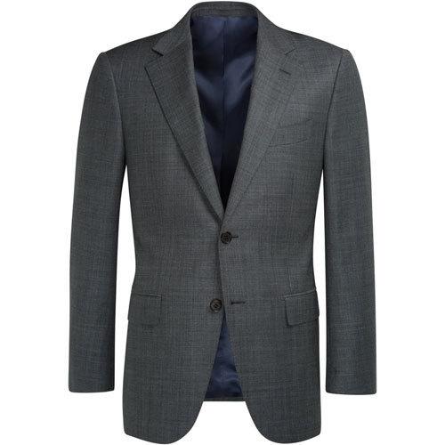 经典灰色商务西装上衣