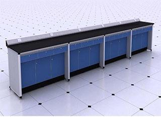 铝木柜体钱思板实验台柜多少钱