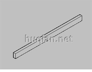 钢木实验台结构分解图二