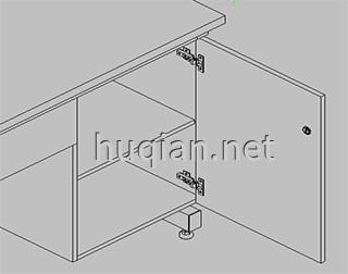 钢木实验台结构分解图五
