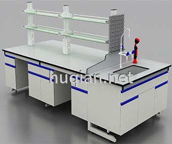 鋼木實驗臺廠家生產的中央實驗臺價格實惠質量穩定