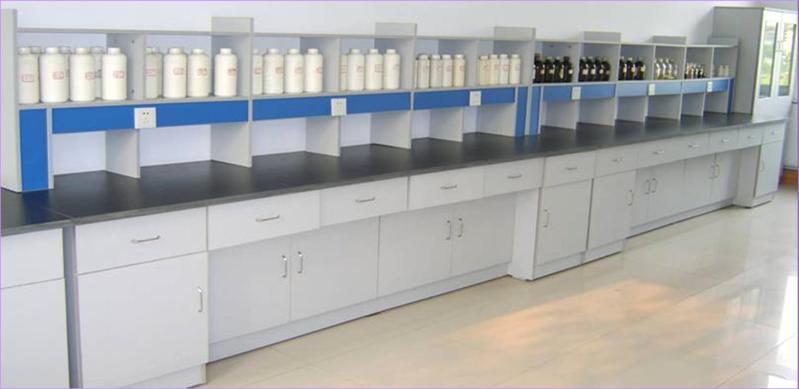 上海实验台公司生产的全木试验室边台