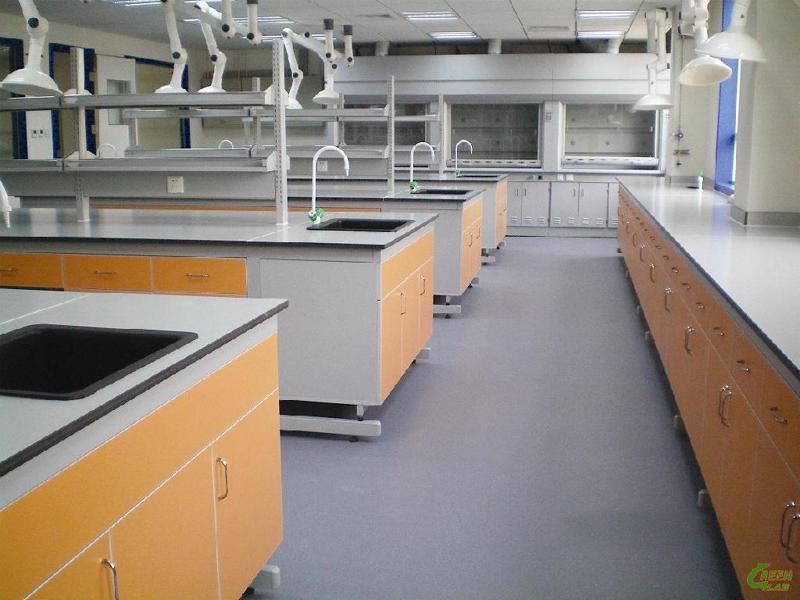上海沪前为中国药科大学定制的钢木防腐蚀实验室柜子