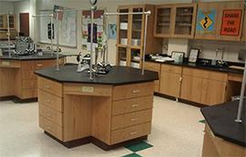 全木六边形学生实验桌