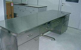上海沪前实验台厂家生产的不锈钢实验柜