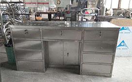 上海沪前实验台厂家生产的不锈钢检测台