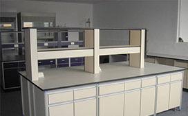 上海铝木实验台公司制造的铝木实验桌