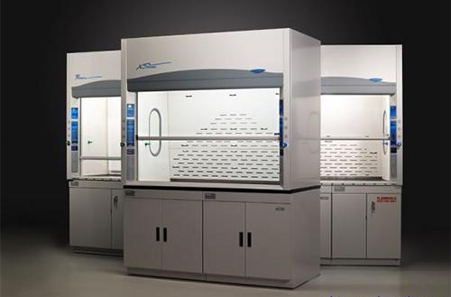 学校化验室设计新颖的全钢通风橱