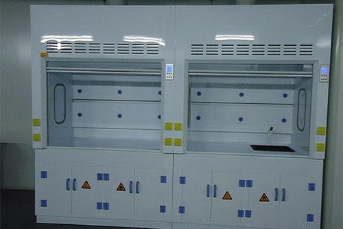 huqian实验室厂家定做的pp通风柜