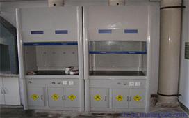 上海沪前玻璃钢通风柜供应商生产的玻璃钢试验室通风柜