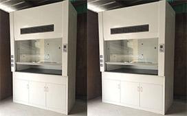 上海沪前玻璃钢通风柜供应商生产的玻璃钢通风柜系列