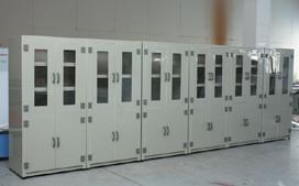 上海沪前实验室试剂药品柜厂家生产的pp化学药品柜