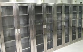 沪前上海通风橱公司生产的药品柜不锈钢
